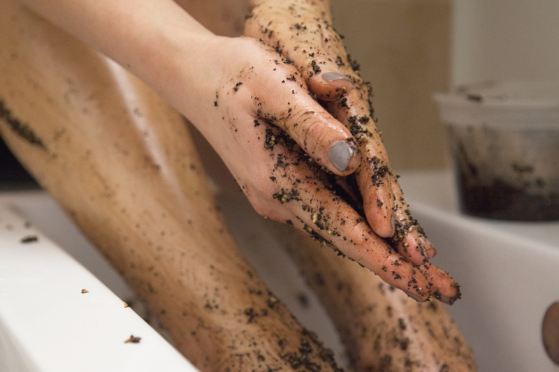 Image result for coffee foot scrub