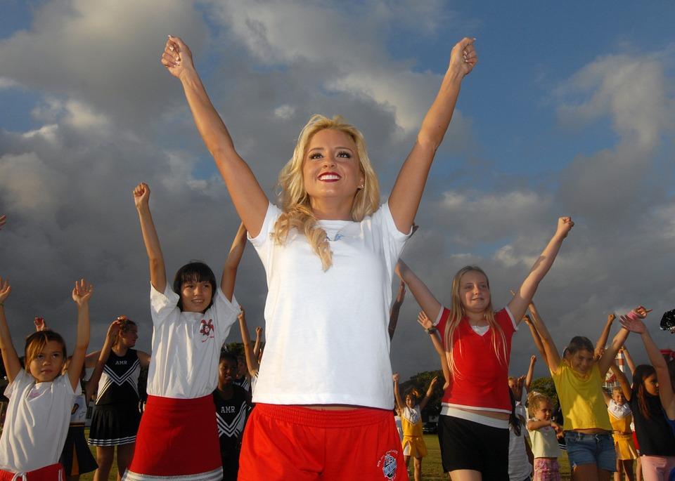 teaching cheer