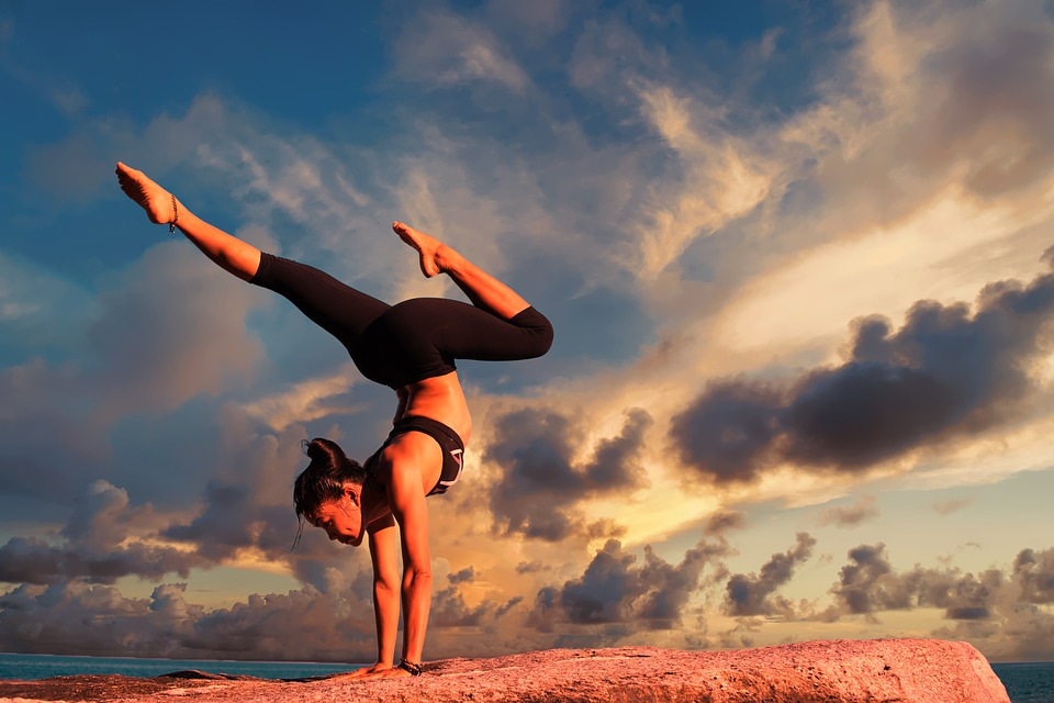 Exercise Yoga Body Fitness Female Woman Healthy