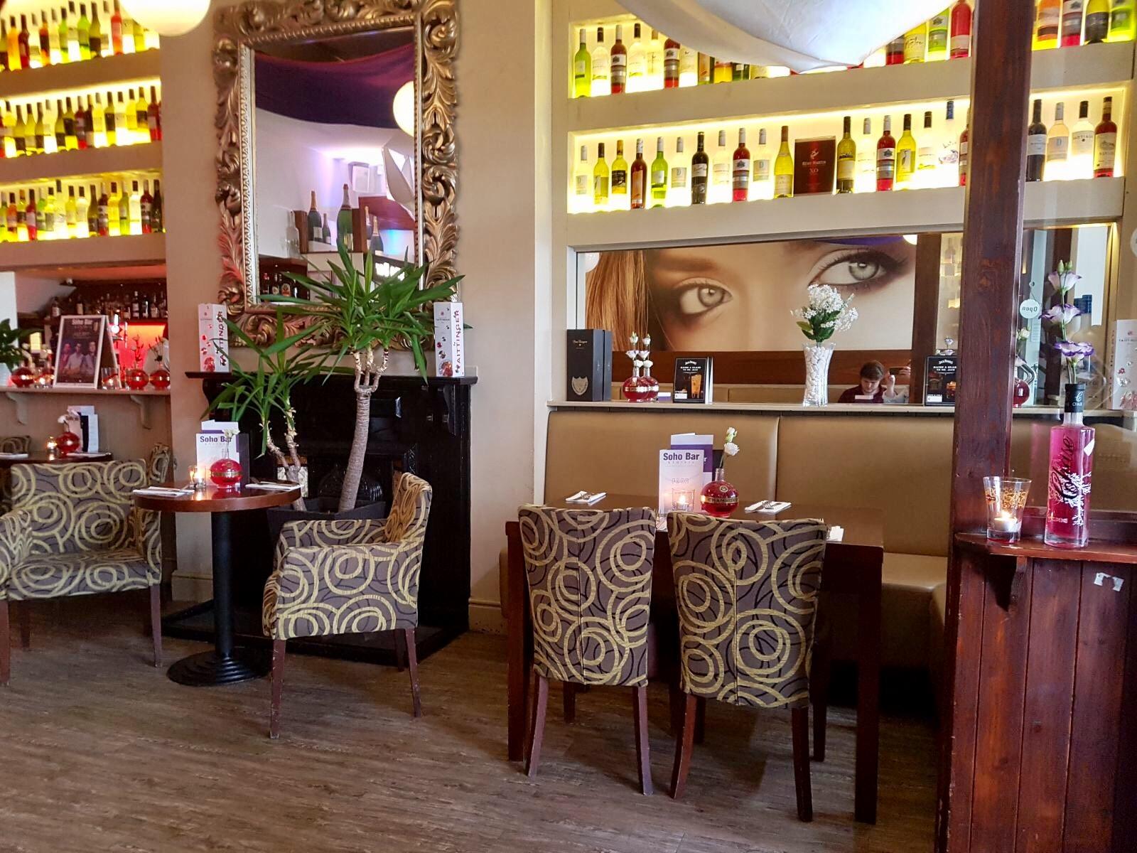 Soho bar cheltenham
